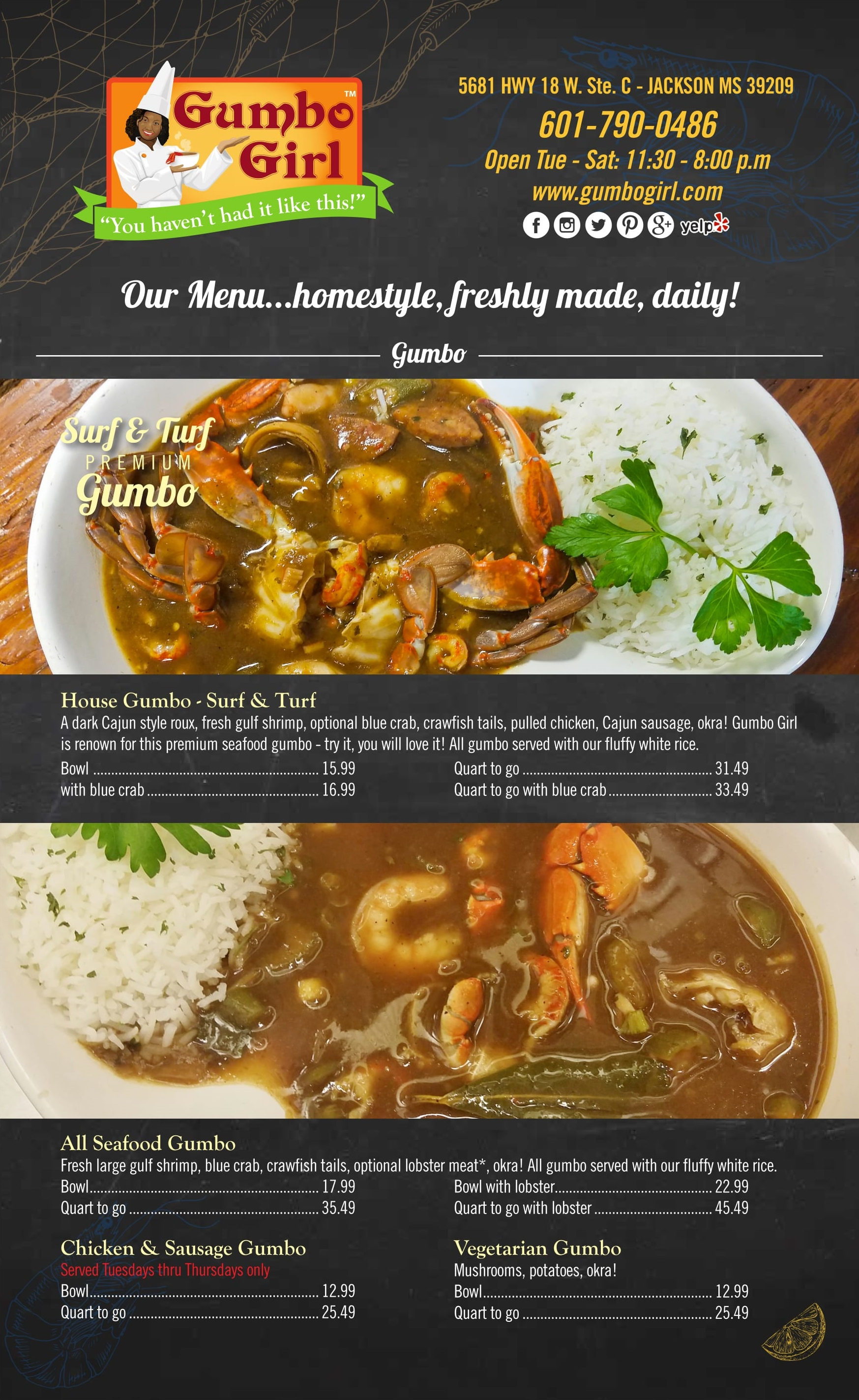 Gumbo Girl Menu Nov 2017 1
